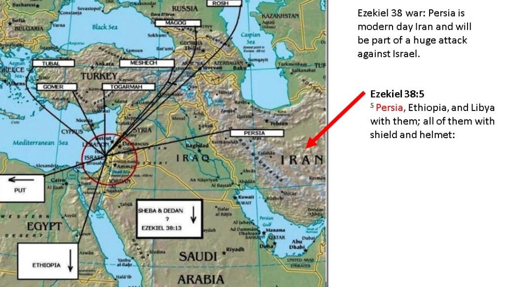 Iran part of the Ezekiel 38 war