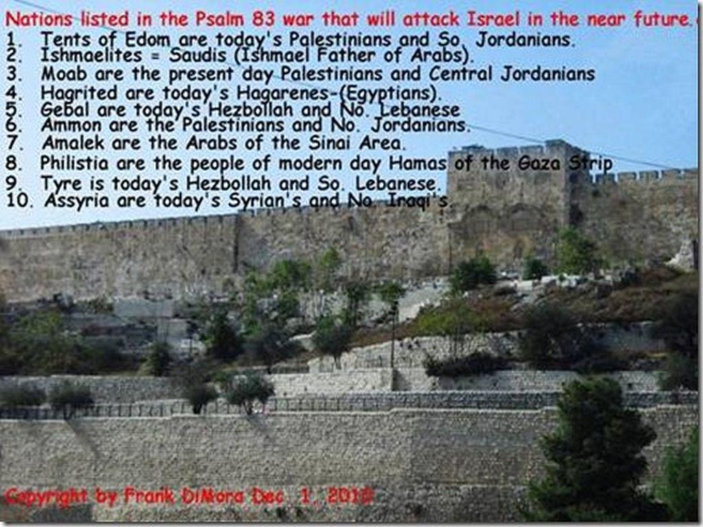 Frank's Psalm 83