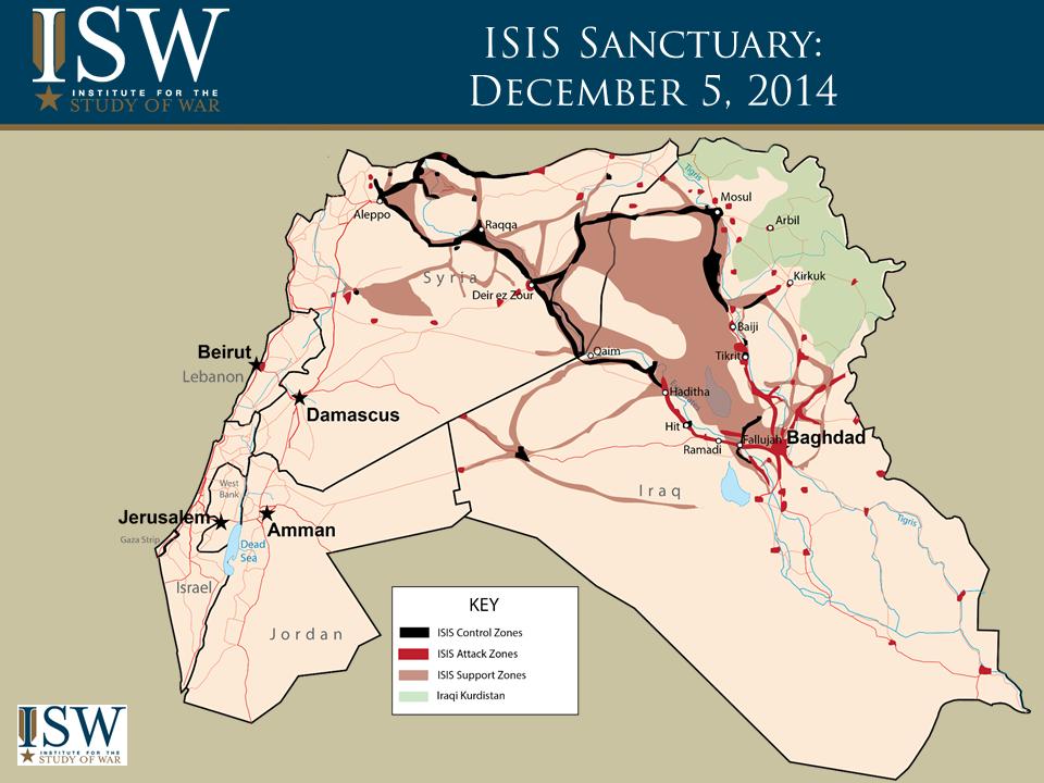 ISIS Map DEC 5