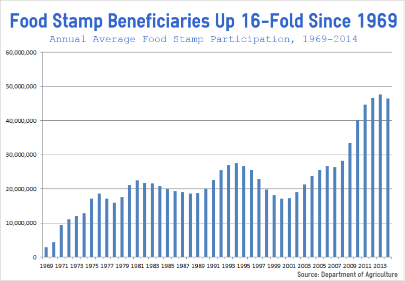 Average Annual Food Stamp Recipients