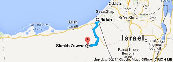Sheikh Zuweid Egypt Rafah