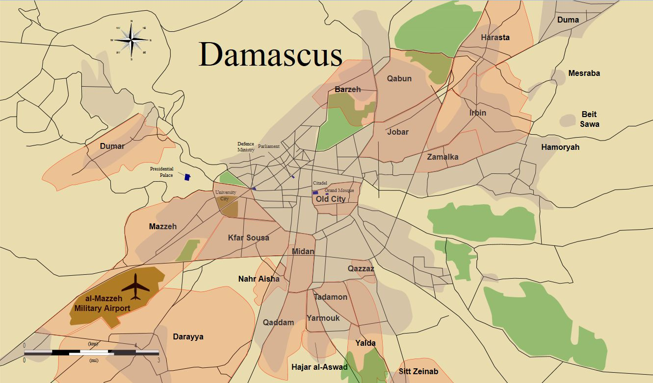 Damascus districts photo
