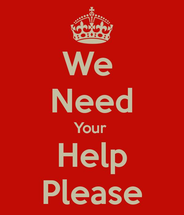 we-need-your-help-please