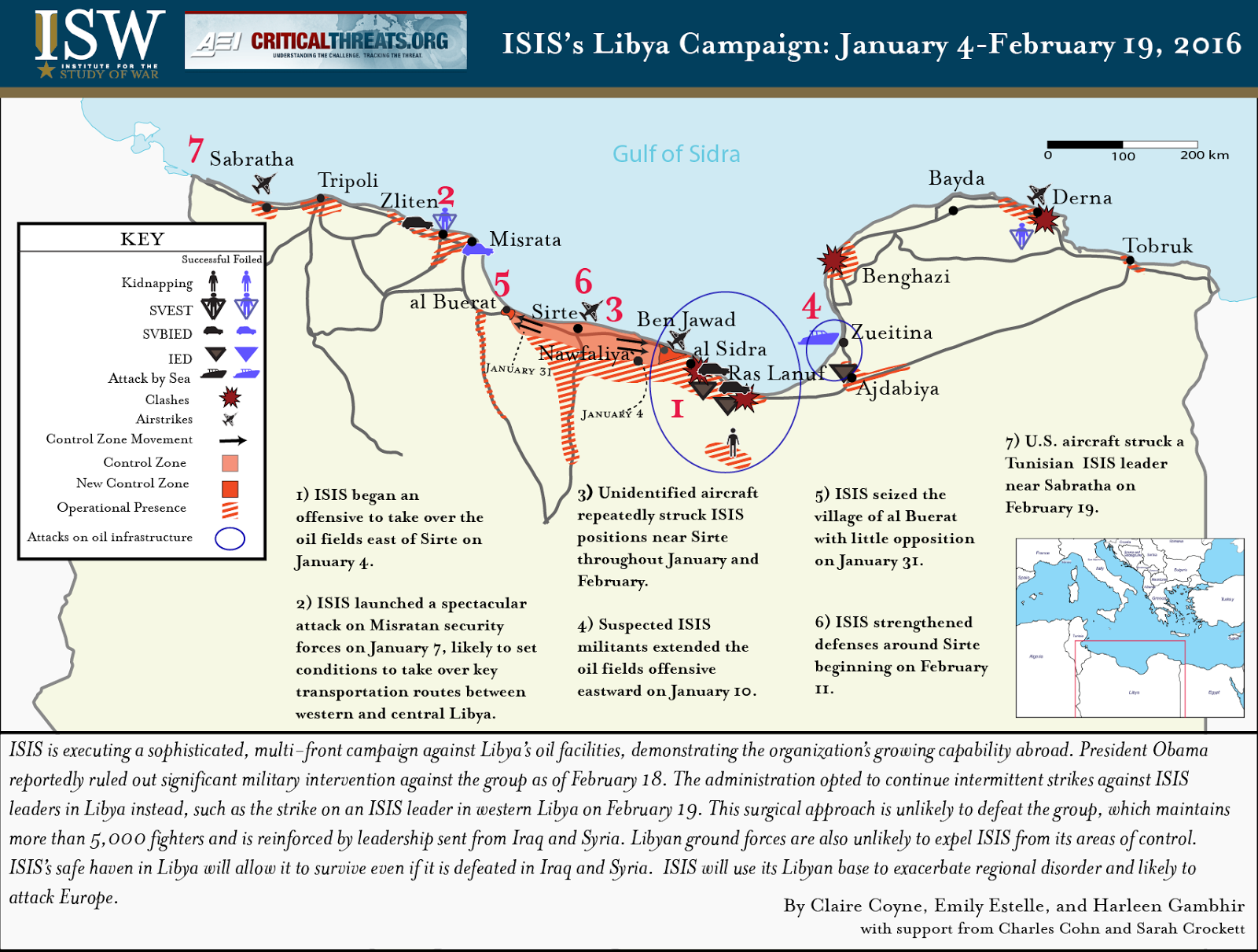 FEB 2016 ISIS in Libya Map-01