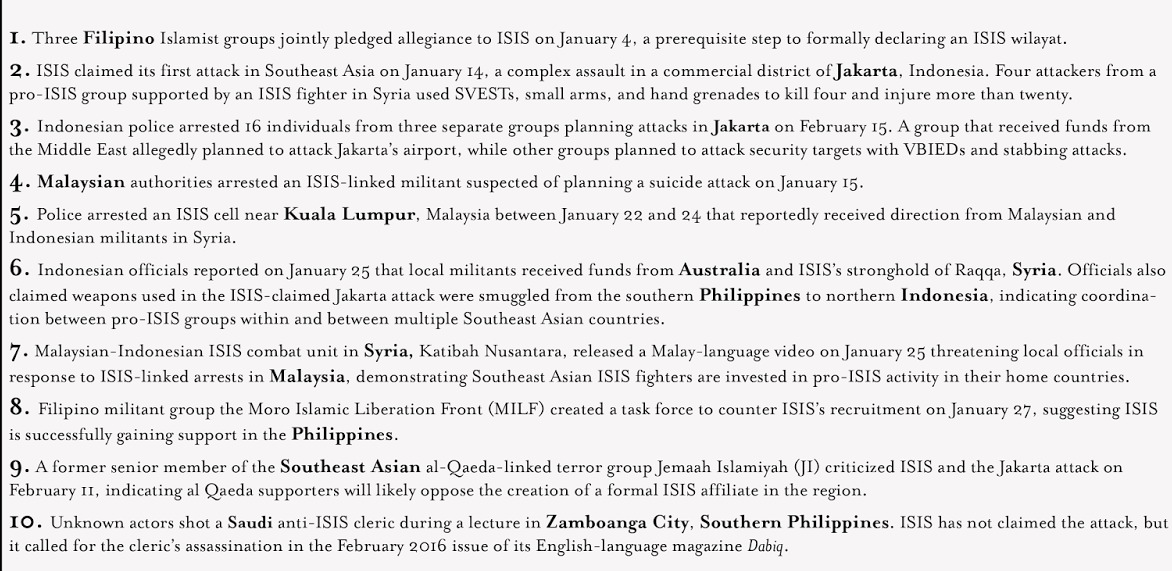 ISIS in Southeast Asia 2