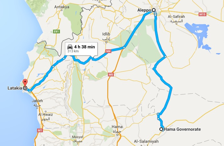 routes of rebels