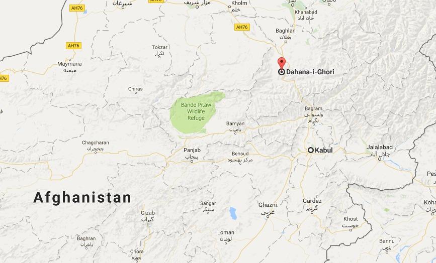 Kabul to Dahna i Ghuri