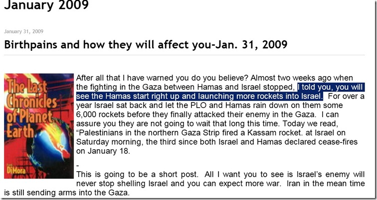 Hamas will never stop launching rockets at Israel