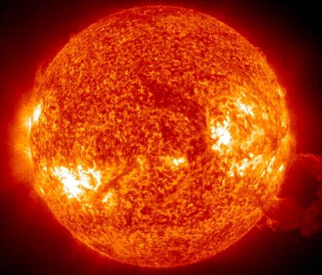 This 26 October, 2003 NASA Solar and Hel