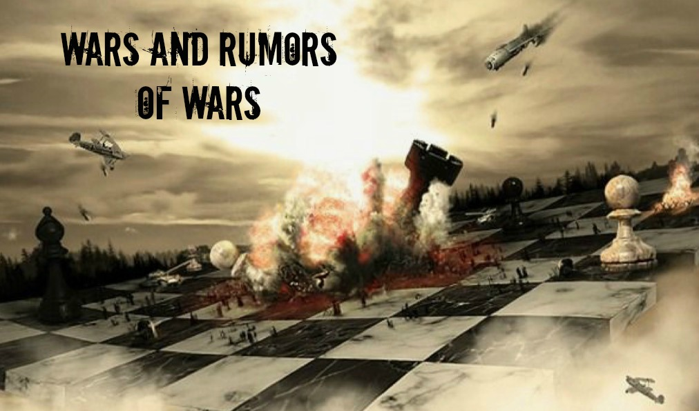 Image result for wars and rumors of wars endtimesresearchministry